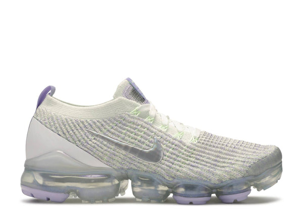 W NIKE AIR VAPORMAX FLYKNIT 3 TRUE WHITE/BARELY VOLT-PURPLE AGATE