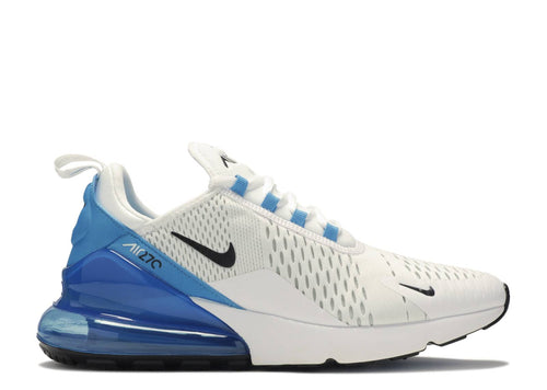 NIKE AIR MAX 270 WHITE/BLACK-PHOTO BLLUE-PURE PLATINUM