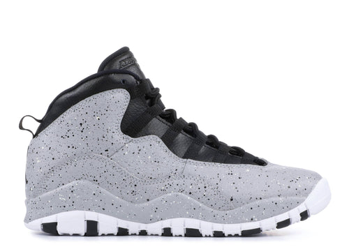 "AIR JORDAN 10 RETRO GS ""Cement"""