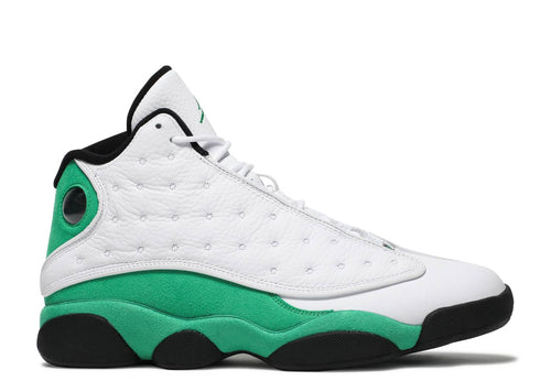 AIR JORDAN 13 RETRO WHITE/LUCKY GREEN-BLACK