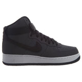 NIKE AIR FORCE 1 HIGH '07 LEATHER DARK GERY/BLACK-WHITE