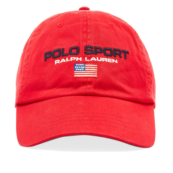 POLO RALPH LAUREN Sport Baseball Cap, Red