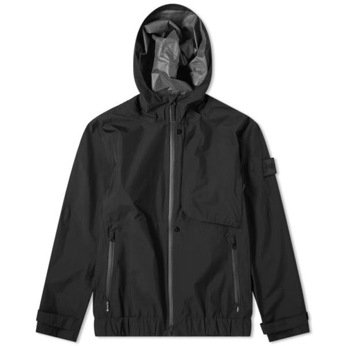 STONE ISLAND SHADOW PROJECT GORE-TEX PACLITE SHELL JACKET, BLACK