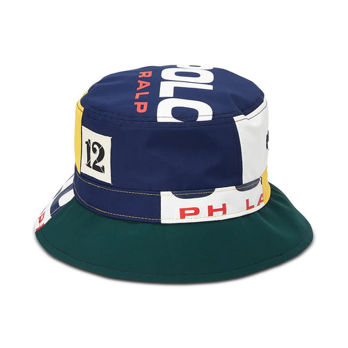 POLO RALPH LAUREN Logo Graphic Bucket Hat, Multi