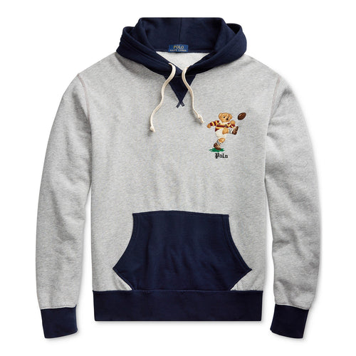 POLO RALPH LAUREN Polo Bear Fleece Hoodie, Andover Heather