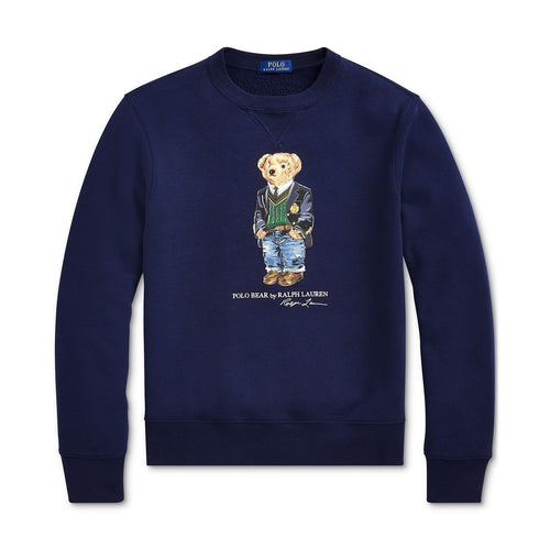 POLO RALPH LAUREN Polo Bear Fleece Sweatshirt, Cruise Navy