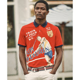 POLO RALPH LAUREN Custom Slim Fit Chariots Polo, RL 2000/ Red Multi