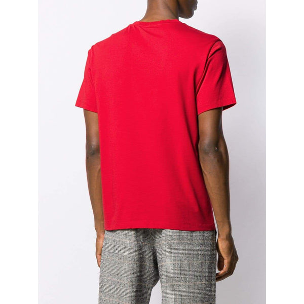 KENZO Tiger Print T-Shirt, Medium Red