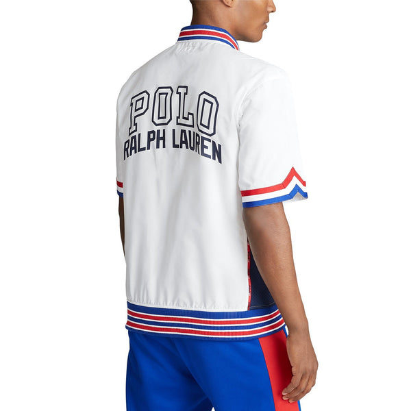 POLO RALPH LAUREN S/S Chariots Warm Up Shirt, White