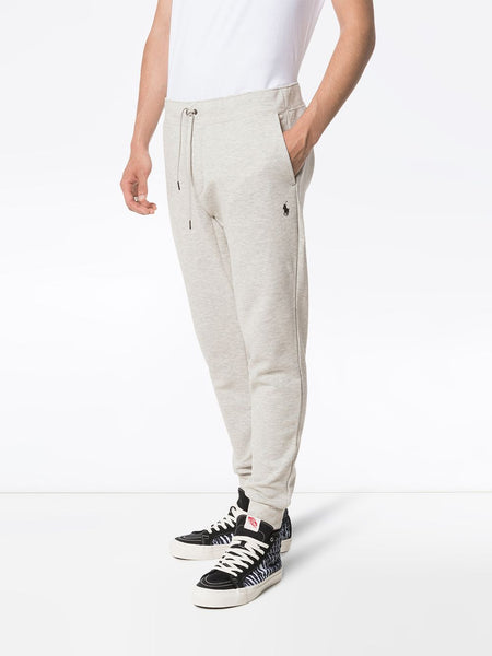 Polo Ralph Lauren Double Knit Fleece Sweatpants, Grey Heather