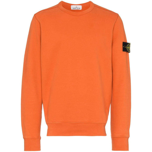 STONE ISLAND Crewneck Sweatshirt, Orange
