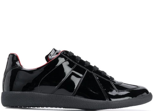 MAISON MARGIELA Replica Low 'Evening' Sneakers, Black