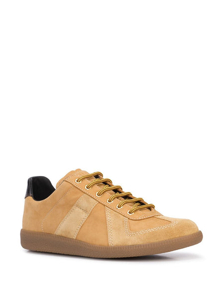 MAISON MARGIELA Replica Low 'Union' Sneakers, Wheat