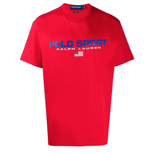 POLO RALPH LAUREN Polo Sport Cotton T-Shirt, Red