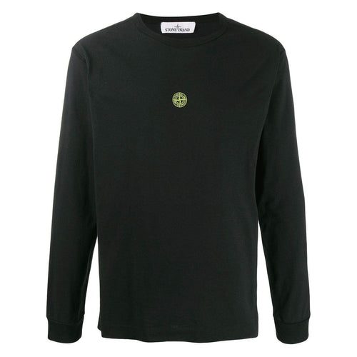 STONE ISLAND Graphic L/S T-Shirt, Black
