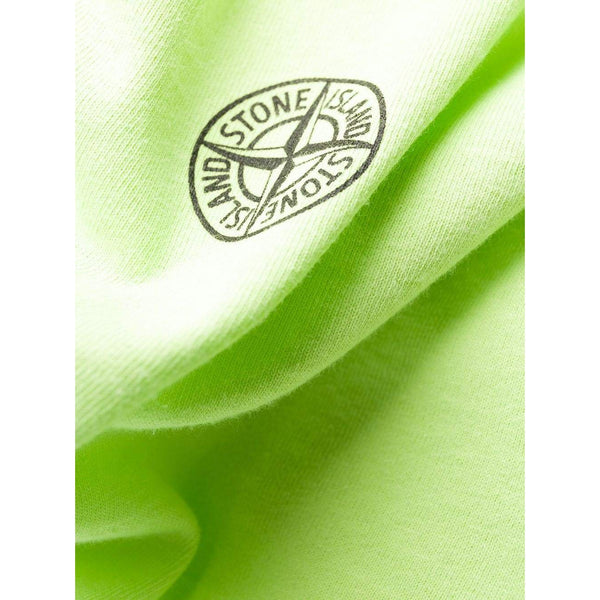 STONE ISLAND Graphic L/S T-Shirt, Green