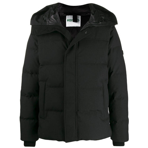 KENZO Quilted Puffer Jacket, Black