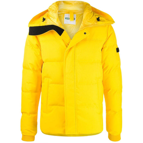 KENZO Quilted Puffer Jacket, Lemon