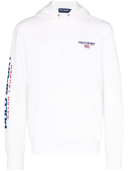POLO RALPH LAUREN Polo Sport Hooded Sweatshirt, White