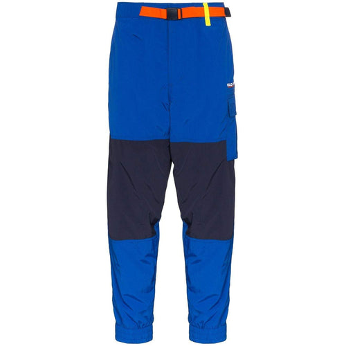 POLO RALPH LAUREN Utility Belted Track Pants, Blue