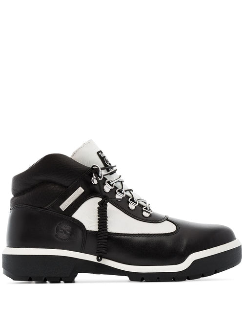 TIMBERLAND X MASTERMIND JAPAN Monochrome Field Boot, Black