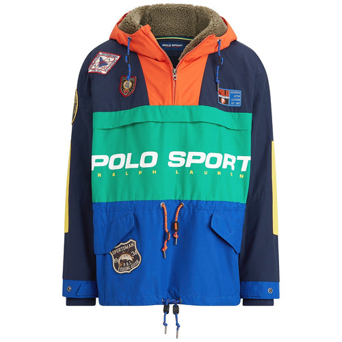 POLO RALPH LAUREN Classic Fit Anorak Sportsman Patch Pullover, Multi