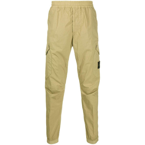 STONE ISLAND Slim-Fit Cargo Trousers, Beige