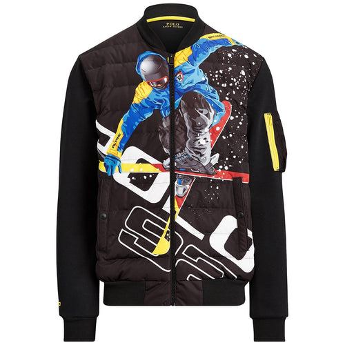 POLO RALPH LAUREN 92 Alpine Ski Double-Knit Tech Jacket