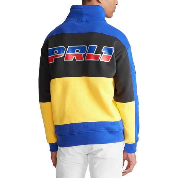 POLO RALPH LAUREN 92 Alpine Ski Polo Racing Funnel Neck Sweatshirt