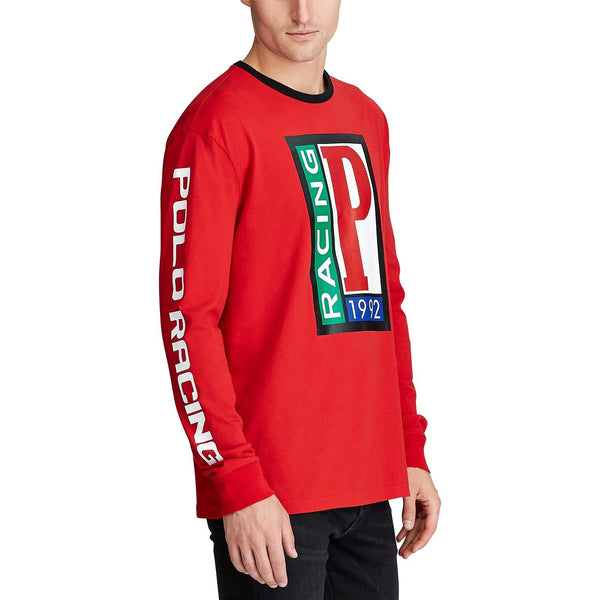 POLO RALPH LAUREN Classic Fit Cotton Graphic T-Shirt, Red