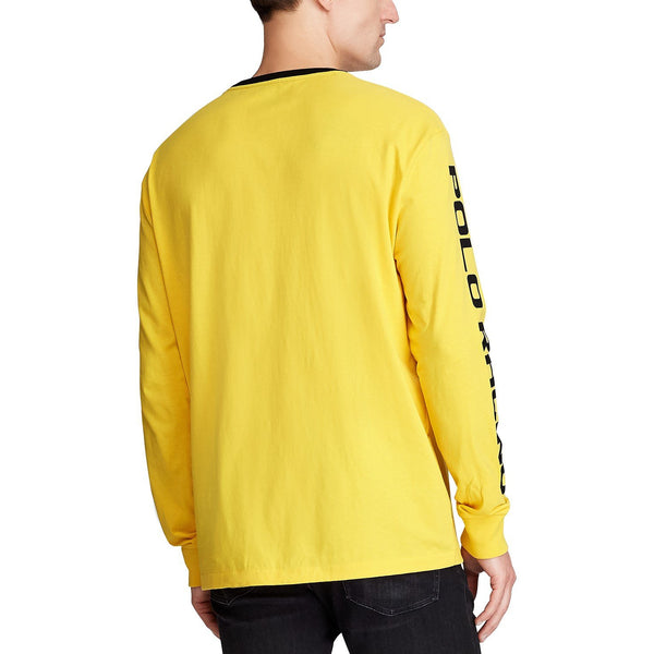 POLO RALPH LAUREN Classic Fit Cotton Graphic T-Shirt, Yellow