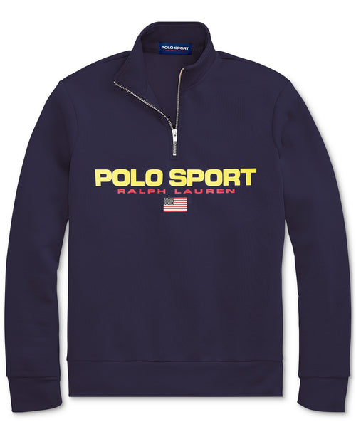 POLO RALPH LAUREN Polo Sport Fleece Quarter-Zip, Cruise Navy