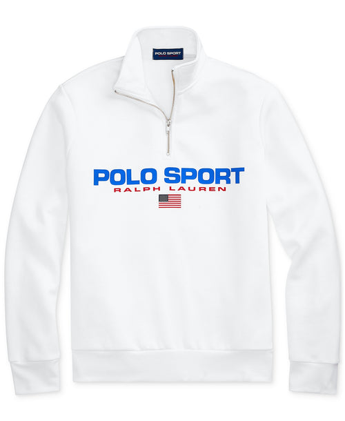 POLO RALPH LAUREN Polo Sport Fleece Quarter-Zip, White