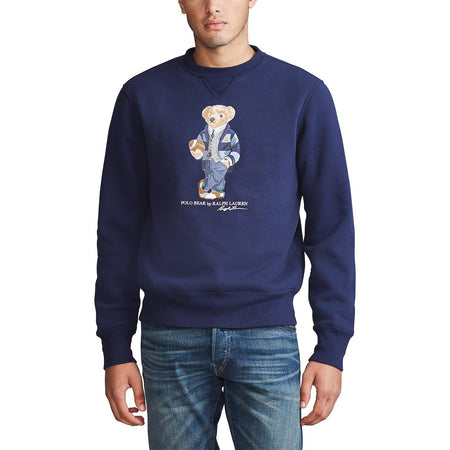 POLO RALPH LAUREN Custom Slim Fit Polo Bear T-Shirt, Cruise Navy