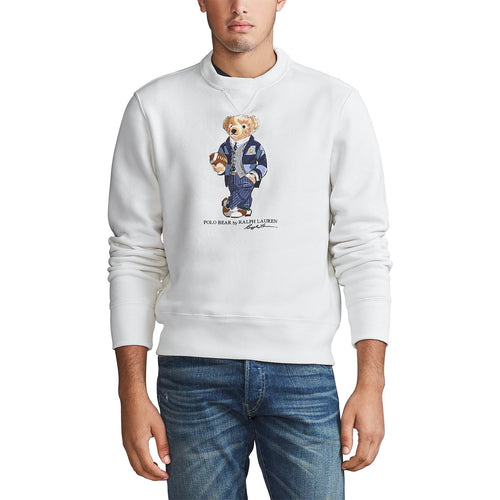 POLO RALPH LAUREN Polo Bear Fleece Sweatshirt, White