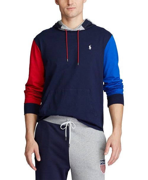 POLO RALPH LAUREN Jersey Hooded T-Shirt, Multi