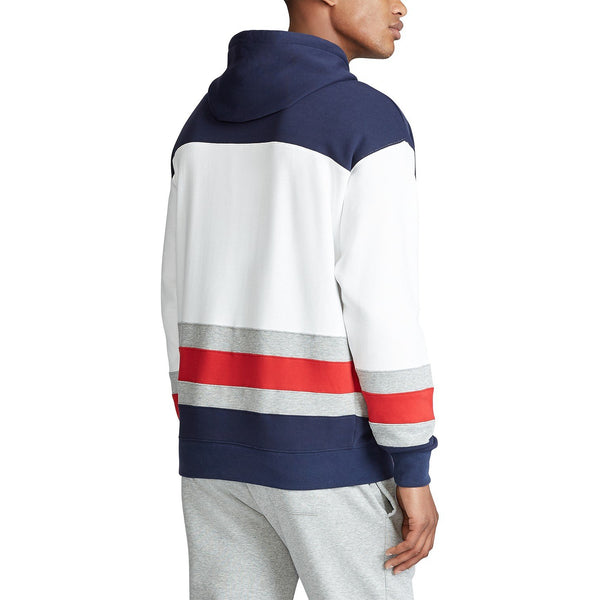 POLO RALPH LAUREN Color-Blocked Fleece Hoodie, Multi