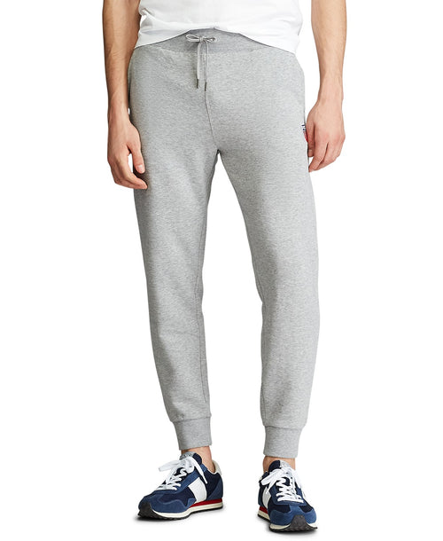 POLO RALPH LAUREN Shield Patch Fleece Joggers, Grey