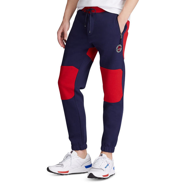 POLO RALPH LAUREN Double-Knit Polo Sport Joggers, Navy