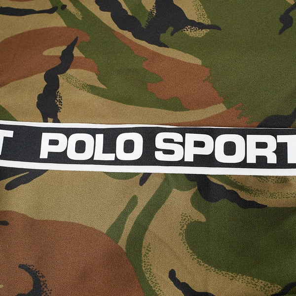 POLO RALPH LAUREN Polo Sport Camo Taped Track Jacket, British Elmwood Camo