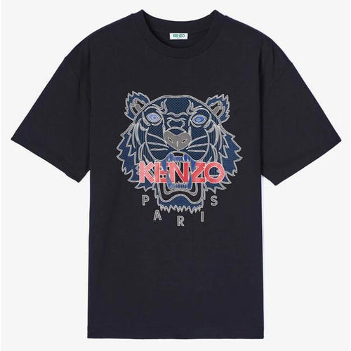 KENZO Silicon Scuba Tiger T-Shirt, Black