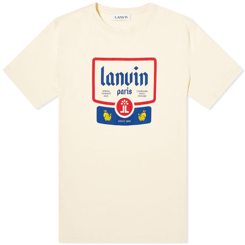 LANVIN BIG LABEL SS T-SHIRT