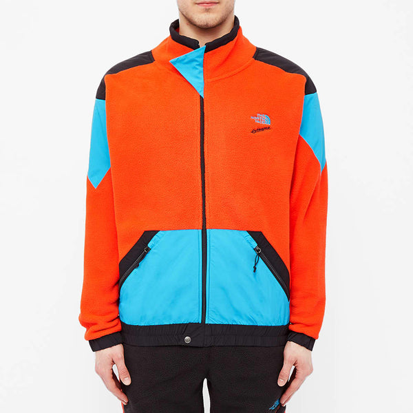 THE NORTH FACE 1990 Extreme Fleece Full Zip Jacket, Fiery Red Combo