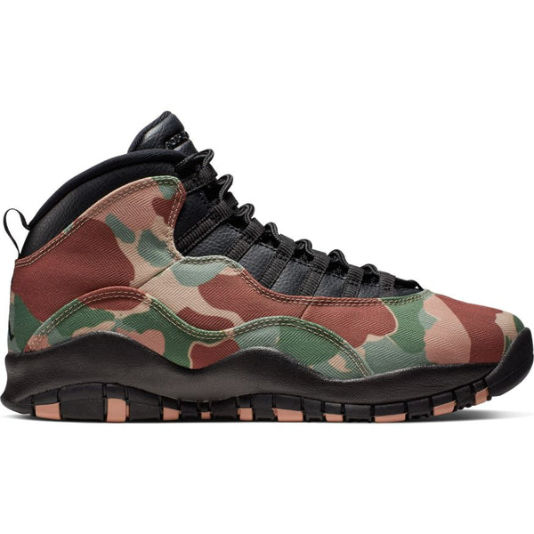 "AIR JORDAN 10 RETRO ""Duck Camo"""