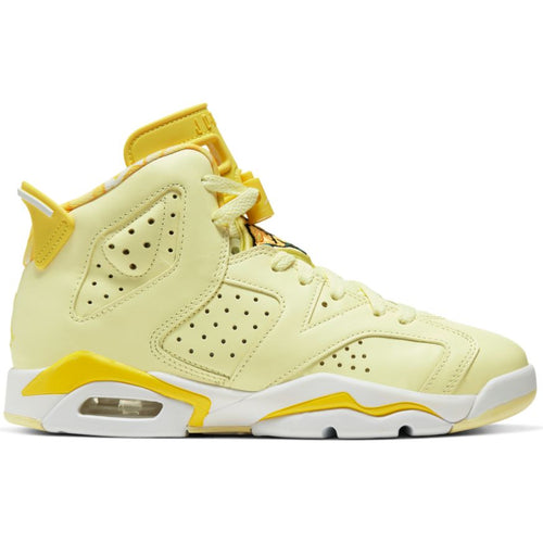 AIR JORDAN 6 RETRO CITRON (GS) TINT/DYNAMIC YELLOW-BLACK-WHITE