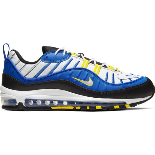 NIKE AIR MAX 98 RACER BLUE/WHITE-BLACK-DYNAMIC YELLOW