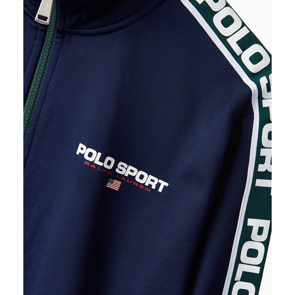 POLO RALPH LAUREN Men's Logo-Tape Fleece Track Pants, Navy