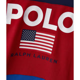 POLO RALPH LAUREN Flag Logo Crewneck, Multi