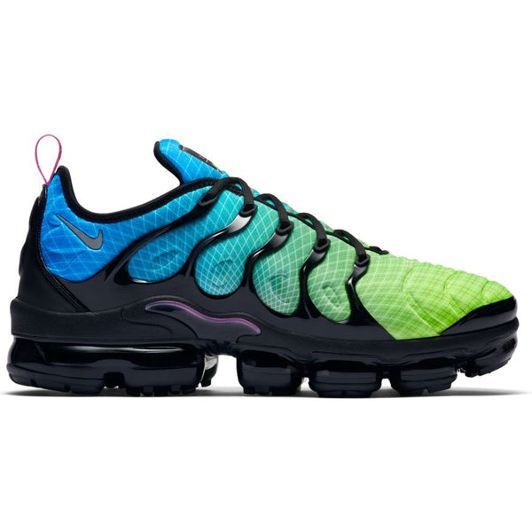 NIKE AIR VAPORMAX PLUS AURORA GREEN/REFLECT SILVER-BLACK