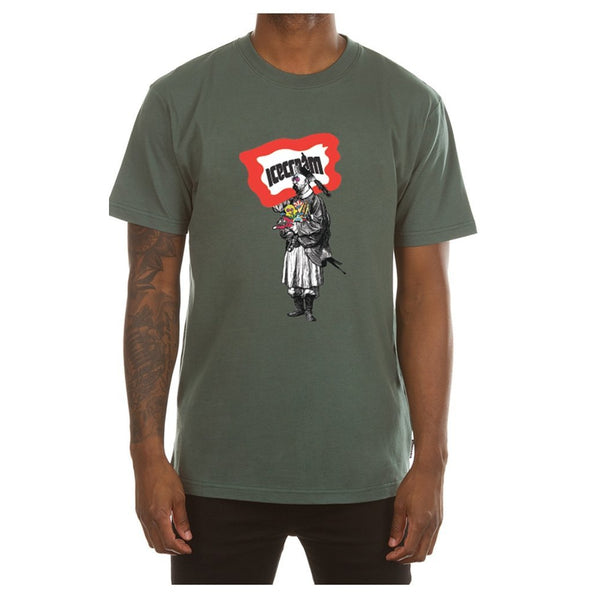 ICECREAM Master SS T-Shirt, Mallard Green